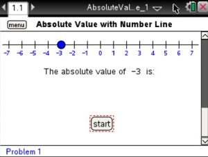 Lesson 1 - Absolute Value with Number Line