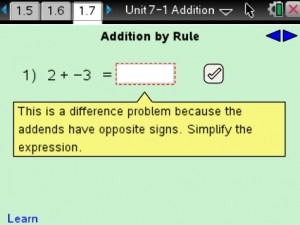 Lesson 7 - Addition By Rule
