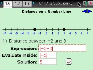 Lesson 9 - Distance On A Number Line