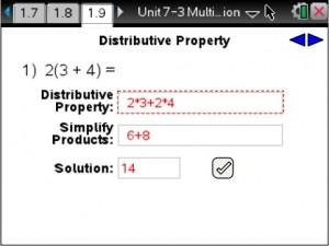Lesson 9 - Distributive Property