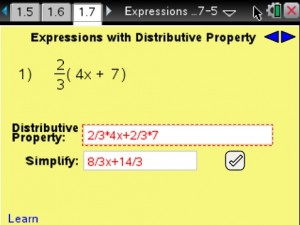 Lesson 8 - Expressions With DistributiveProperty