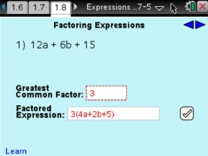 Lesson 9 - Factoring Expressions