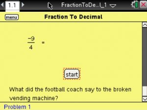 Lesson 3 - Fraction to Decimal