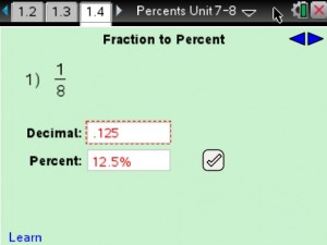 Lesson 4 - Fraction To Percent