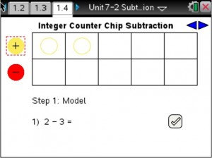 Lesson 4 - Intger Counter Chip Subtraction