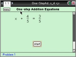 Lesson 1 - One-step Addition Equations