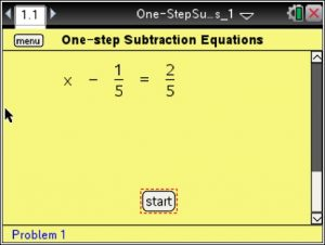 Lesson 2 - One-step Subtraction Equations