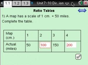 Lesson 1 - Ratio Tables