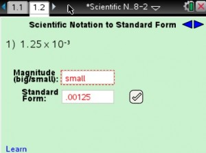 Lesson 2 - Scientific Notation to Standard Form