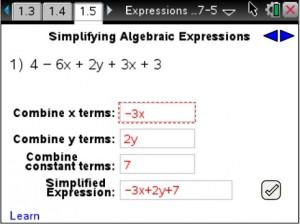 Lesson 6 - Simplifying Algebraic Expressions