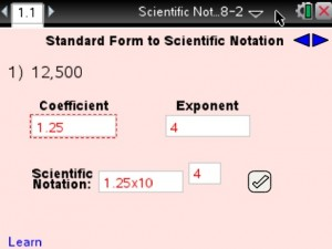 Lesson 1 - Standard Form to Scientific Notation