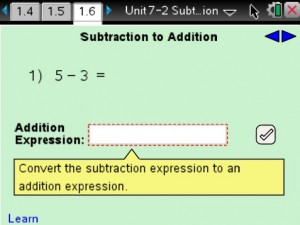 Lesson 6 - Subtraction To Addition