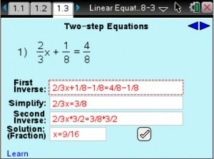Lesson 3 - Two-step Equations