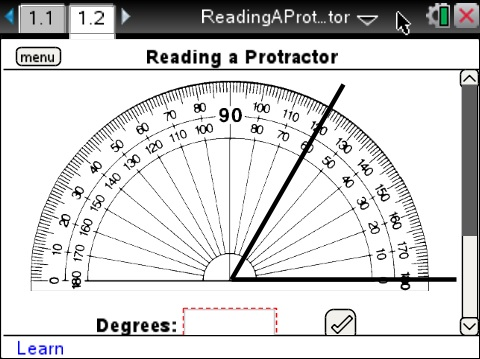 Lesson 2 - Reading a Protractor