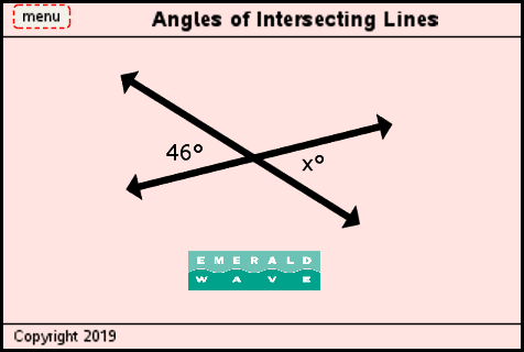 Lesson 4 - Angles of Intersecting Lines